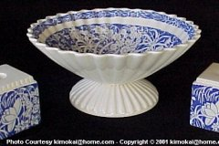 1_hawaiian_flowers_blue_bennison_dayrae_bowl_and_rectangular_single_light_candle_holders_2