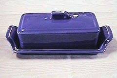 Cobalt-Blue-Early-Calif-Butter-Dish