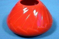 bennison_pine_cone_vase_no_4_in_orange