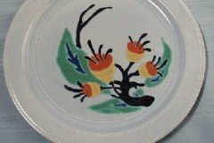 bird_pottery_b-103_luncheon_plate