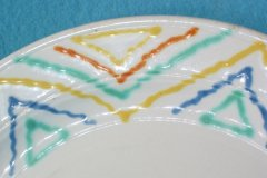 bird_pottery_b-310_luncheon_plate_detail