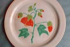 bird_pottery_chinese_lantern_dinner_plate