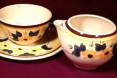 brown_eyed_susan_cup_and_saucer_and_creamer