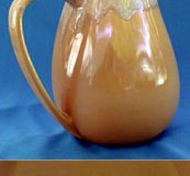 california_heritage_almond_cerametal_two_quart_streamline_pitcher