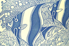 coral_reef_dinner_plate_in_blue_detail