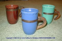 coronado_mugs_in_brown_dark_blue_and_green