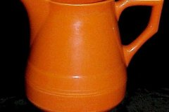 early_california_ANGULAR_half_pint_pitcher_in_orange