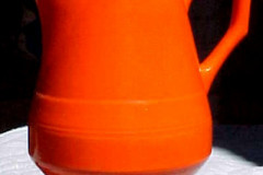 early_california_ANGULAR_one_quart_pitcher_in_orange