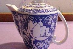 hawaiian_flowers_demi_coffee_pot_in_blue
