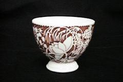 hawaiian_flowers_maroon_egg_cup
