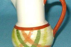 homespun_one_pint_bulb_pitcher_with_tam_stripes