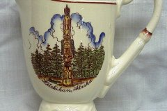 ketchikan_alaska_commemorative_1.5_pint_pitcher_on_melinda_shape_left_side_view