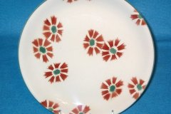 mystery_floral_pattern_luncheon_plate