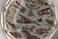 pensacola_fla_naval_air_station_plate_in_brown